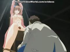Threesome with hot anime sluts