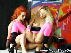 Nasty bisex group orgy hotties