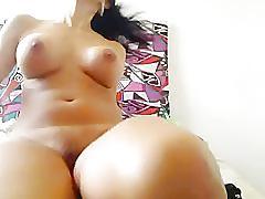 Big boob latina fingers pussy