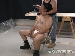 Three naughty gay bears enjoys sucking and rimming
