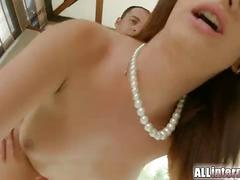 Allinternal hanna sweet gets creampie in pussy