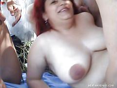 Redhead bbw enough for everybody