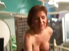 Busty mature mama loves to wank and dirty talk