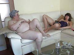 Old and young lust in the same couch