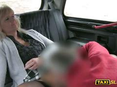 Phat ass amateur blonde harley banged a driver in public