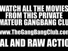 Amateur gangbang and orgy compilation