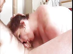 fat, chubby, bbw, uniform, chunky, rolls, redhead, ginger, blowjob, fingering, pussy-rubbing, squirt, squirting, wet