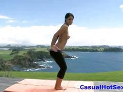 Casualhotsex.com melissa hot strip