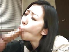 Hairy pussy japanese babe screams hard