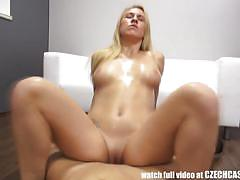 blowjob, hardcore, blonde, czech, doggy, cowgirl, casting, amateur, homemade, pov, reality, missionary