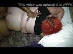 She cant handle redzilla 12 inch bbc sbbw lover takes it all p2 (new)