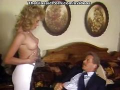 Barbii, tracey adams, busty belle in vintage fuck video
