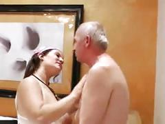 Young scort sex tourism with grandpa