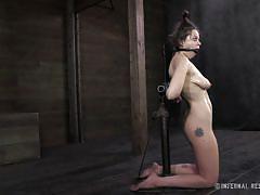 Tit tortured whore that deserves it