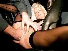 I am pierced in my pussy - hot granny with piercings