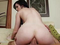 Brunette jennifer white gets ass fucked