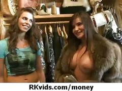 Gorgeous teens getting fucked for money 31