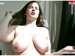 Chubby girl ass fucked