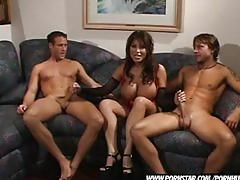 pornstar.com, busty, big-boobs, big-tits, brunette, threesome, groupsex, blowjob, oral, hardcore, ass-fucking, ass, dp, big-dick, throatfuck, ass-to-mouth, cougar, mature, huge-tits