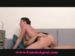 Celine milf agent likes it hard and fast
