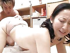 mature, japanese, panties, fingering, brunette, bent over, licking nipples, japanese matures, all japanese pass