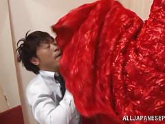 japanese, rimjob, anal sex, fitting room, tight anus, red dress, pretty girl, nippon, anal nippon, all japanese pass, reira aisaki