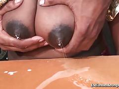 Mature desi poonam sweet lactating titties