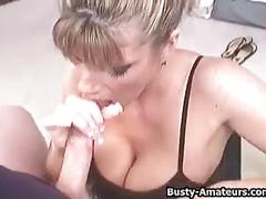 Busty tera sucking and titty fuck