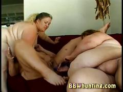 Watch three huge bbw lesbians