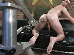 solo, kinky, anal insertion, gay, butt machine, butt machine boys, kink men, brandon monroe