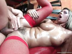 Magnificent milf fucked hard