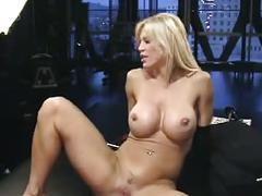 Nina's webcam show with amber lynn