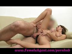 Femaleagent. let's share her together