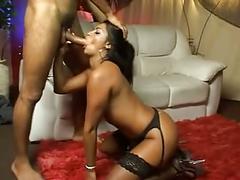 Latin milf anal fuck