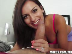 Awesome latina sucks and rides a cock pov style