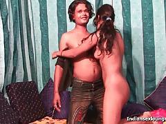 Desi teen pinky got her firm titties sucked