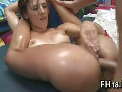 Sexy hot playgirl fucks and sucks