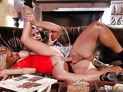 wife, rimjob, cheating, blowjob, busty, from behind, blonde milf, cuckold husband, sideways, real wife stories, brazzers network, kayla kayden, keiran lee