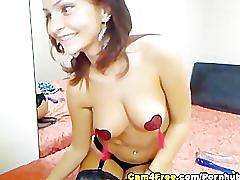 Gorgeous how babe cam show hd