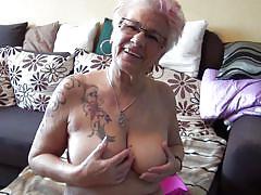 Granny still has a soft corner for masturbation
