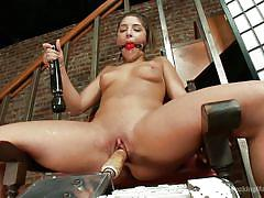 This babe is into some kinky stuff