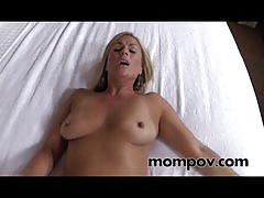 Sexy blonde mature amateur