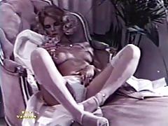pornhub.com, blonde, brunette, natural-tits, classic, 70, girl-on-girl, strap-on