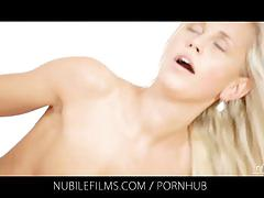 Nubile films - would you lick the cum from dido angels creampie