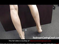 Blonde hot teen casting couch - full video