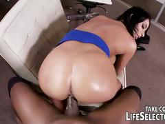 Lucky black guy fucking three amazing babes