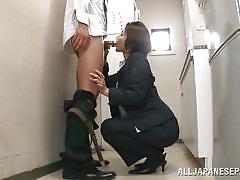 japanese, blowjob, kitchen, office sex, pretty chick, at work, suit, office sex jp, all japanese pass, satsuki kirioka