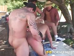 anal, big dick, big tits, cumshot, threesome, milf, dp, outdoor, 3some, anal sex, assfucking, backyard, big boobs, big cock, busty, cum in mouth, double penetration, mom