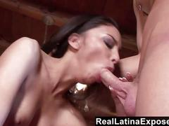 Reallatinaexposed - perfect latina titties bouncing