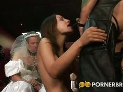 Hardcore gang band on the big wedding day